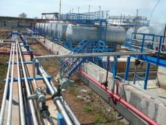 Монтаж оборудования на АЗС, АГЗС и нефтебазах