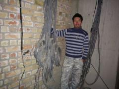 Монтаж электричества
